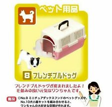 RE-MENT MINIATURE DOG CAT TRAVEL CASE COLLECTION