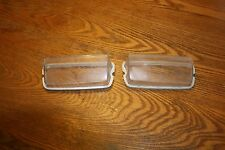 1969 Shelby Mustang GT350  Mach 1 Cougar Xr7 ORIG RH LH FRONT LIGHT LENS