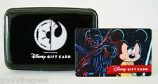 DISNEY STAR WARS WEEKENDS 2015 GALACTIC GATHERING EXCL GIFT CARD CASE ZERO BAL
