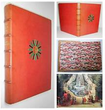 NANCY MITFORD SIGNED The Sun King Louis XIV PALACE of VERSAILLES FINE BINDING