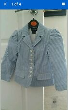 Ralph Lauren Striped seersucker Blazer Age 4 Years BNWT