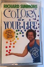Richard Simmons Colors Of Your Life Sealed Cassette Tape