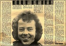 7/4/1973D7 Article & Picture : Peter skellern- blue peter