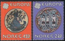 Norway 1981 Europa/Art/Painting/Mermaid/Bowl/Box/Craft/Heritage 2v set (n43386)