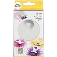 SUPPORT RIBBON Large Slim Profile Paper Punch by EK Success