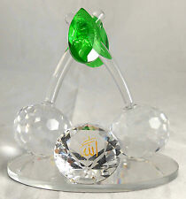 Islamic Muslim crystal /Cherry figurine / Gift, favor / Home decorative # 914