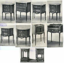9 PHOTO PETITS MEUBLES - CHEVETS - COMMODES