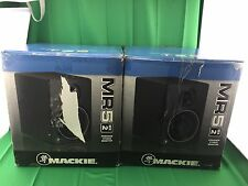 2 Mackie Speakers MR5 MK2