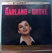 """JUDY GARLAND, """"JUDY GARLAND AT THE GROVE"""""""