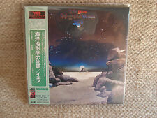 YES TALES FROM TOPOGRAPHIC OCEANS MINI LP CD JAPANESE JAPAN JPN MINT AMCY-2736-7