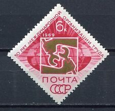 28961) RUSSIA 1969 MNH** Nuovi** 50th anniversary of the ILO