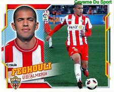 003 FEGHOULI ALGERIA UD.ALMERIA UPDATE GRENOBLE FOOT 38 STICKER LIGA 2011 PANINI