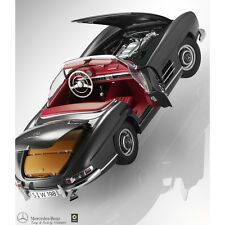 Original Coche a escala Mercedes-Benz 300 SL Roadster W 198 1:18 Minichamps