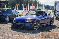 Honda S2000 Front Bumper CARBON FIBRE Canards, fits most Bumpers, Performance v4