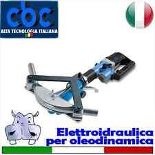 Curvatubi/piegatubi elettroidraulica per acciaio inox/bonderizzato più Kit per o