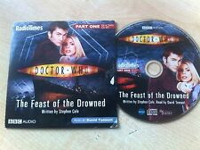 BBC DOCTOR WHO Dr The Feast of the Drowned Part 1 Read by David Tennant Audio CD