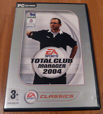 Retro PC CD ROM Juego-Total club manager 2004