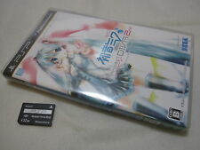 PSP Gamesoft Hatsune Miku Project DIVA 2nd Japanese import. [With Complete Data]
