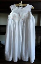 Beautiful Remember Nguyen Baby Girl's Smocked Heirloom Bishop Dress 12 Months