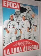 EPOCA 30 novembre 1969 Apollo 12 Gol di Pele Annarumma Kennedy Carrieri Bramieri