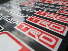 TOYOTA SPORT TRD STICKER DECAL BADGE SPRINTER CAMRY CHASER HILUX AURION CRUISER