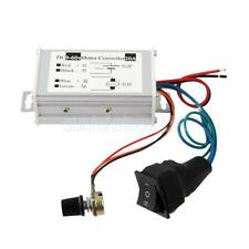 20A PWM DC Motor Stepless Variable Speed Controller Switch 9-60V