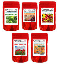 42 Heirloom Non-GMO Onion Tomato Flower Herb Seed Variety Packs Garden Lot