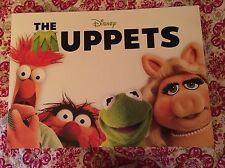 Disney The Muppets Lithograph Set of 4 w/ Folder MINT