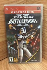 Sony PSP - Star Wars Battlefront II 2 (GH) - CIB Complete - tested, working