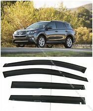 Window Visors Sun Rain Wind Guard for Toyota RAV4 2013-2016
