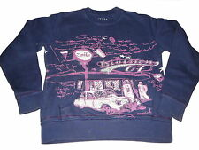 Jette by Staccato tolles Sweat Shirt / Pullover Gr. 152 blau-rosa !!