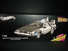 Hot Wheels Elite DeLorean Time Machine Back to the Future with Mr Fusion 1/18