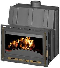 Fireplace Insert Inset Firebox Wood Burning Stove Built Solid Fuel 14kw ADMIRAL