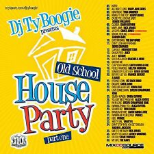 DJ TY BOOGIE - OLD SCHOOL HOUSE PARTY Pt. 1 (MIX CD) 80's R&B and FUNK