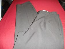 34X34 DARK GRAY WOOL BLEND PLEATED FRONT LEVI'S DRESS PANTS!