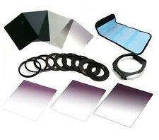 6 Filter Set ND2 ND4 ND8 G.ND2 4 8 + 9size Metal Adapter Ring for Cokin P Series