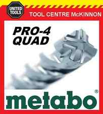 METABO 25.0 x 400 x 540mm SDS MAX PRO-4 QUAD HAMMER DRILL BIT – MADE IN GERMANY