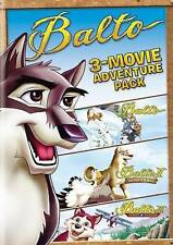 BALTO 3-MOVIE FAMILY FUN PA...-BALTO 3-MOVIE FAMILY FUN PACK (2PC) / (2P DVD NEW