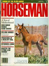 1988 Horseman Magazine: How Nurse Mares Raise Babies/Selling Horses/Lead Change