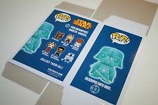 Funko Pop! Star Wars Holographic Darth Vader Glow MINT UNFOLDED REPLACEMENT BOX