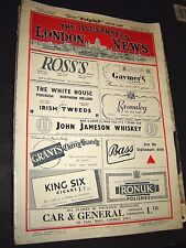 The Illustrated London News: December 24th 1949 Original Format Vintage Magazine