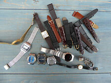 JOB LOT MECHANICAL DIGITAL WATCHES ALL A/F PIRATRON CHANCELLOR ORIGINAL STRAPS