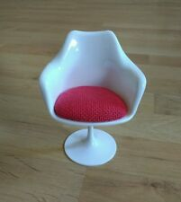 1/6 Tulip chair modern Chair Miniature BJD doll chair 13cm tall New