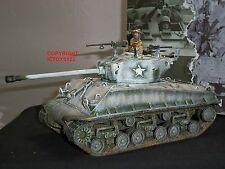 KING AND COUNTRY BBA54 WORLD WAR TWO M4A3E8 EASY EIGHT MILITARY SHERMAN TANK