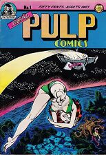 REAL PULP COMICS #1 & 2 1971-73 S. CLAY WILSON ROGER BRAND FIRST ZIPPY STORY!