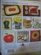 Learn To Paint With Priscilla Hauser Painting Book #9830-Seahorses/Shells/Vegeta