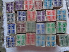 10,000 STAMPS LOT ( 100 BUNDLES )  - mixed SERVICE STAMP - india