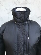 DKNY Womens Black Down Coat Puffer Jacket Size Small