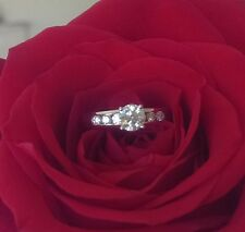 Hearts on Fire 0.72tcw (0.52ct Centre) Ideal Cut Diamond Engagement Ring $9700