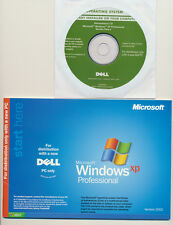 Windows XP Professional Service Pack 2 Sp2 DVD With Key and Installation Book